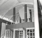 Hälleberga kyrka: Uppförande hela kyrka 1978.Slutbesiktning. Plantyp, församlingsrum: Centralplan,korsformig. Dominerande stilepok, exteriör: Modernism. Dominerande stilepok, interiör: Modernism.