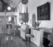 Interiör från Hjorteds kyrka.