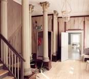 Interiör övervåningen (rum 200) på Fredriksbergs herrgård.