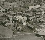 Flygfoto över Lunds by i Tjust.