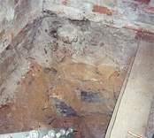 Södra trappförrådet i Gladhammars kyrka.
