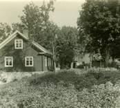 Östra flygeln på Gunnabo gård. Sexdelad plan.