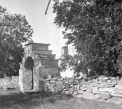 Källa ödekyrka. Kyrkan förklarades 2019 som statligt byggnadsminne.