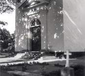Madesjö kyrka. Kyrkan uppfördes 1753-1885.