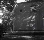 Boningshus vid Troserum, detalj gaveln.