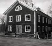 Gaveln på ett bostadshus i Broby.