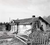 Karl Anderssons stuga. Foto: 28/07 1955.