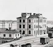 Järnvägsstationen i Västervik.