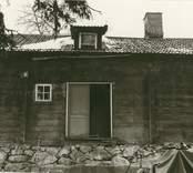 Gamla mangårdsbyggnaden under restaurering.