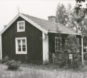 Hembygdsstugan i Bäckebo, före renovering.