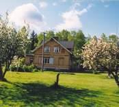 Trädgård till prästgården i Alsjö.