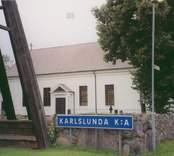 Karlslunda kyrka.