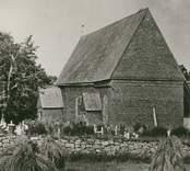 Fagerhults gamla kyrka från 1700-talet, som revs 1901.