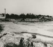 Blankaholms sågverk vid sekelskiftet 1900.