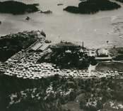 Blankaholms sågverk före branden 1946.