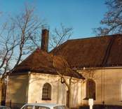Motiv från Hjorteds kyrka.