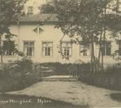 Vykort med motiv från Flerohopps Herrgård.