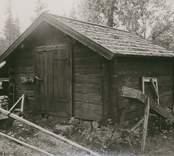 Foto:M.Dyfverman och M.Rehnberg 1937 Fårhus från 1800-talets mitt. Längd 3,5m. Bredd 3,5m.