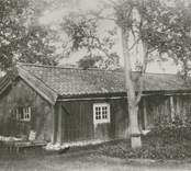 Grönöstugan på hembygdsgården i Misterhult.