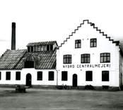 Nybro Centralmejeri, Mejerivägen 5, uppfört 1924. Foto 1940-09-15