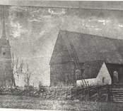 Den gamla kyrkan i Fagerhult.