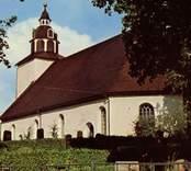 Motiv från Odensvi kyrka.