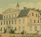 Kolorerat vykort med motiv från Stensnäs herrgård.