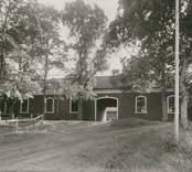 Interiör från Stensnäs herrgård. Ägare 1929: Familjen Stackelberg.