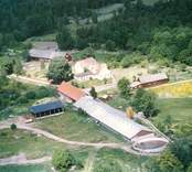 En gårdsmiljö i Stenbrohult.