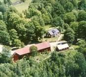 En gårdsmiljö i Morebo, Kristvalla.