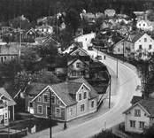 Storgatan i Nybro sedd mot öster.