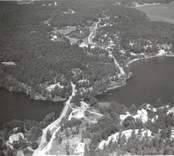 Flygfoto över Skaftet i Västrum.