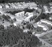 Flygfoto över Johannesdal i Västervik.