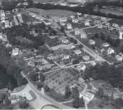 Flygfoto över Edsbruk.