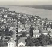 Flygbild över Västervik.
