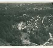 Flygbild över Ankarsrum.