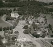 Flygfoto över Loftahammar.