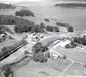 Flygfoto över Almvik.