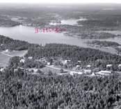 Flygfoto över Skaftet.