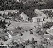 Vy över Kikeboskolan i Oskarshamn                             .