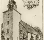 Odensvi kyrka i Småland.