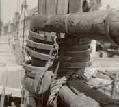 Skonaren Banken av Kalmar byggd i Oskarshamn 1877. Kondemnerad 1838 såld till upphuggning samma år. 1910,1915 Brantevik, 1921 Kalmar. O.B.Johansson. Hamn i Oskarshamn 95?