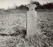 En gravvård med inskription på Fagerhults kyrkogård.