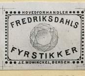 Tändsticksetikett från Västerviks tändsticksfabrik.  Västerviks tändsticksfabrik anlades 1858 strax utanför staden på torpet Ladugården av sjökaptenen C G Landström. Här sysselsattes i början 80 personer med tillverkning av fosfortändstickor för hand. Redan 1862 sade man sig tillverka tändstickor utan fosfor, men det är osäkert om det verkligen rörde sig om säkerhetständstickor. Sådana tillverkades i vart fall senast 1874. Antalet arbetare uppgick då till omkring 100 och man bedrev en omfattande export till Europa och Asien från egen kaj och utlastningsmagasin. 1893 brann hela fabriken ner, två flickor omkom och flera skadades men återuppbyggdes under medverkan av staden. Sedan fabriken 1903 blivit en del av Jönköping-Vulcan med huvudkontor i Jönköping utvidgades verksamheten betydligt och 1907 var antalet arbetare uppe i 347. Under de följande åren installerades fler och bättre maskiner och 1920 kom de första komplettmaskinerna. Fabriken var som störst under 1920-talet, då arbetsstyrkan uppgick till mellan 700 och 800 personer. Därefter minskade antalet till cirka 400 år 1930. Under andra världskriget var driften bara delvis igång på grund av begränsade exportmöjligheter. År 1956 hade antalet arbetare sjunkit till 200 och nedläggningsåret 1968 fanns endast 100 kvar.  (Uppgifterna hämtade från http://thoresmatches.se/tandsticksfabriker/wasterviks_tandsticksfabriker.htm)