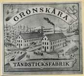 Ur Janssons Litografiska Tryckeris provtrycksbok, Kalmar.
