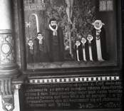 Gladhammar kyrka: Kyrkohede Zacharias Benedicctic Retzius och hans familjs epitafium.