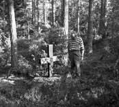 Träkors vid Altorps Hage i Nynäs.