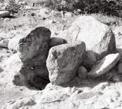 En stensättning från järnåldern, i Virkvarn.
