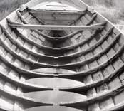Ördéns storbåt mot fören. Foto: 23/07 1948.