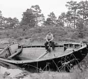 Storbåten Teresia av Tallholmen, ägare Gerhard Andersson.